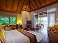 Deluxe Villa de l'hôtel Baros aux Maldives