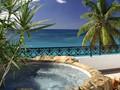 Plunge pool suite de l'hôtel Belmond La Samanna à Saint-Martin