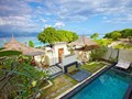 La 3 Bedroom Pool Villa et sa piscine vues de haut
