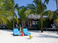 Beach Villa de l'hôtel Kuredu Island Resort