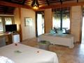 Deluxe Beach Bungalow de l'hôtel Le Mahana Huahine
