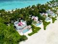 Vue des superbes Beach Villas