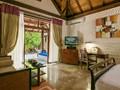 Beach Villa de l'hôtel Olhuveli aux Maldives
