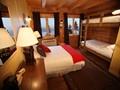 Chambre Fjord de la Pourvoirie du Cap au Leste