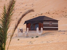 Sheikh Tent du 1000 Nights Camp au Sultanat d'Oman