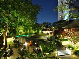 Vue de l'hôtel 137 Pillars House situé à Chiang Mai