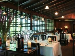 La cave à vin de l'hôtel 137 Pillars House en Thailande