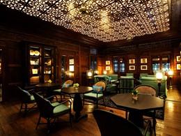 Le bar Jack Bain's du 137 Pillars House situé en Thailande