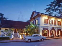 Extérieure de l'hôtel 3 Nagas situé en plein coeur du vieux Luang Prabang