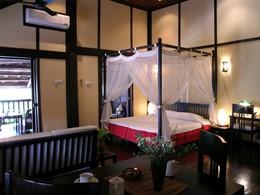 Deluxe Room de l'hôtel 3 Nagas à Luang Prabang