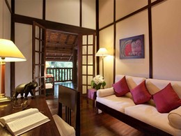 Junior Suite de l'hôtel 3 Nagas à Luang Prabang