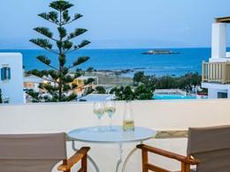 Splendide vue sur la mer Égée