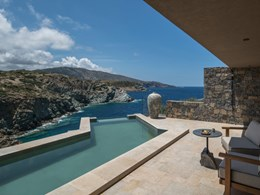 La piscine de la Sunset Villa
