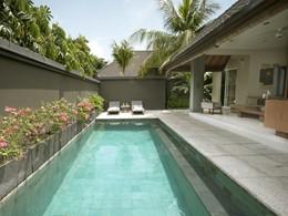 La piscine d'une villa