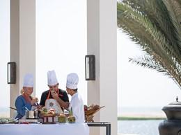 La cuisine arabe n'aura plus de secret pour vous après un cours à l'Al Baleed.