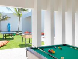 Le club pour ados de l'hôtel Al Baleed Resort à Oman