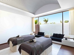 Le spa de l'hôtel 5 étoiles Al Baleed Resort à Oman