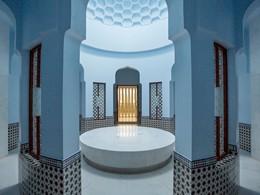 Le hammam de l'hôtel Al Baleed Resort à Salalah