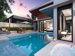 La piscine de la Grand Deluxe Pool Villa