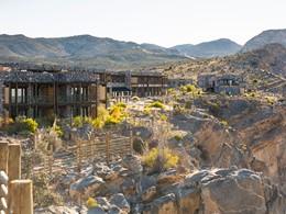 Vue de l'Alila, situé dans l'une des régions les plus spectaculaires d'Oman