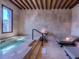 Le bain à remous de l'hôtel Alila Jabal Akhdar