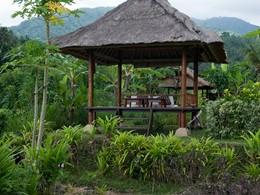 Restaurant Organic Garden de l'Alila Manggis à Bali