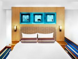 Chic room de l'hôtel Aloft à Bangkok