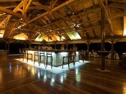 Autre vue du bar de l'hôtel Alphonse Island
