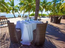Autre vue du restaurant de l'Alphonse Island