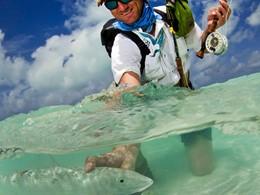 Pêche à la mouche à l'hôtel Alphonse Island