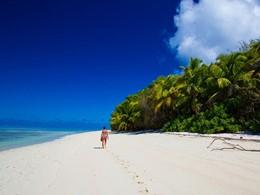 Autre vue de la plage de l'hôtel Alphonse Island