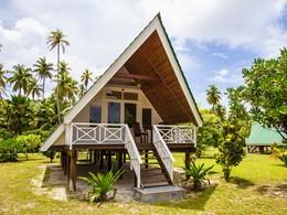 Vue exterieure de la Beach Bungalow de l'Alphonse Island