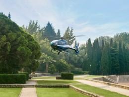 Offrez-vous une arrivée en hélicoptère