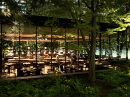 The Café by Aman, à la fois au coeur de la forêt et de la ville