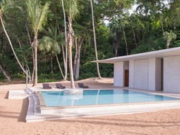 La piscine pour enfants de l'hôtel 5 étoiles Amanera