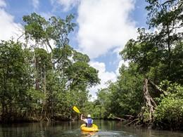 Kayak à l'hôtel Amanera en République Dominicaine