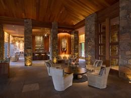 Le Zinc Bar de l'hôtel Amangani situé aux Etats Unis