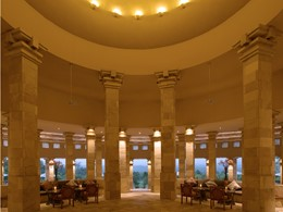 Le bar Rotunda de l'Amanjiwo, en Indonésie