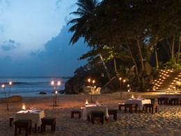 Profitez d'un barbecue sur la plage de l'Amanpuri