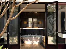 Pool Suite de l'hôtel Amansara au Cambodge