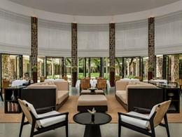 Le restaurant de l'hôtel Amansara à Siem Reap