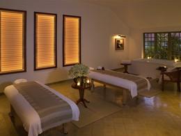 Le spa de l'hôtel Amantaka à Luang Prabang