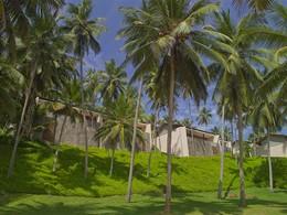 Vue des suites de l'Amanwella au Sri Lanka