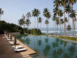 La piscine de l'Amanwella sur la côte sud du Sri Lanka