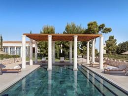 La piscine pour enfants de l'hôtel de luxe Amanzoé