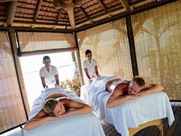 Cabine de massage extérieure