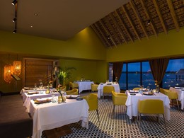 Le restaurant Signature de l'hôtel Anahita The Resort