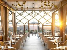 Le restaurant Al Maisan de l'Anantara Al Jabal Al Akhdar