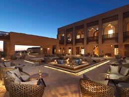 La cour de l'Anantara Al Jabal Al Akhdar à Nizwa