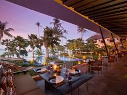 Restaurant Full Moon de l'Anantara Bophut situé à Koh Samui